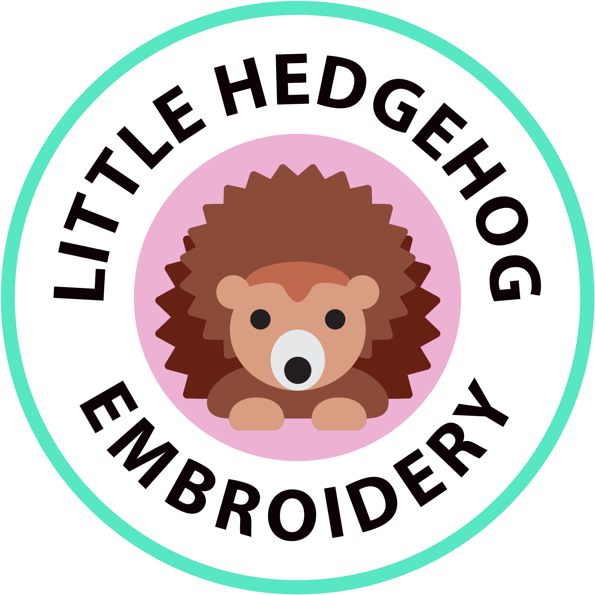 Little Hedgehog Embroidery